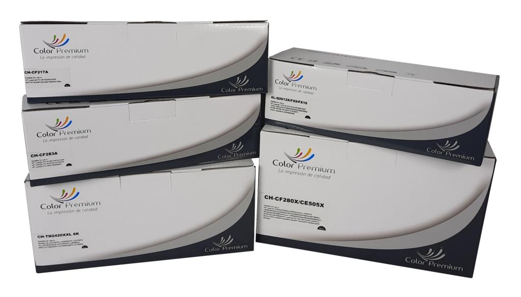 Tóner compatibles marca ColorPremium 2021
